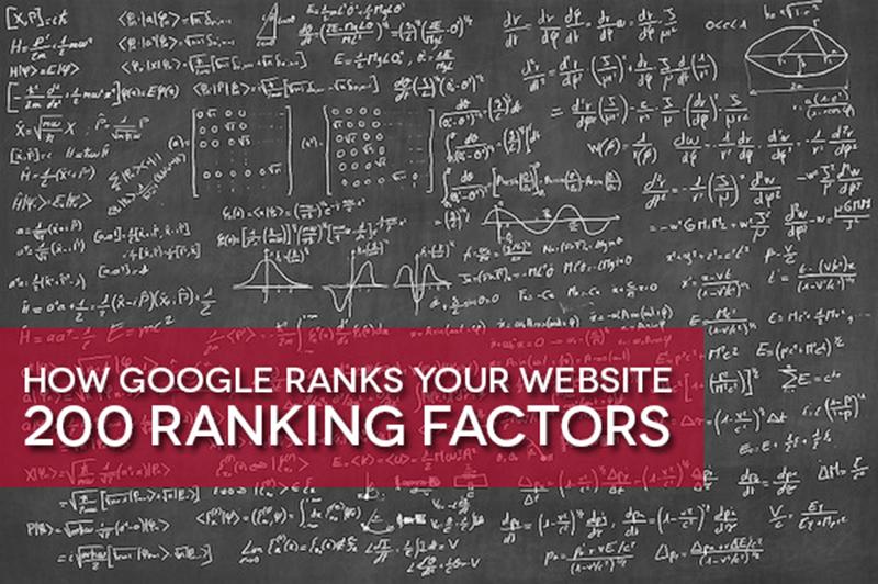 Tổng hợp 200 yếu tố xếp hạng từ khóa của Google