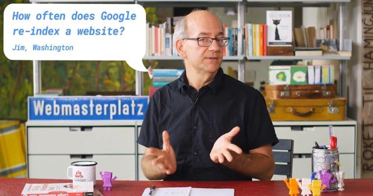 Cách Google lập chỉ mục lại một trang web trong tìm kiếm