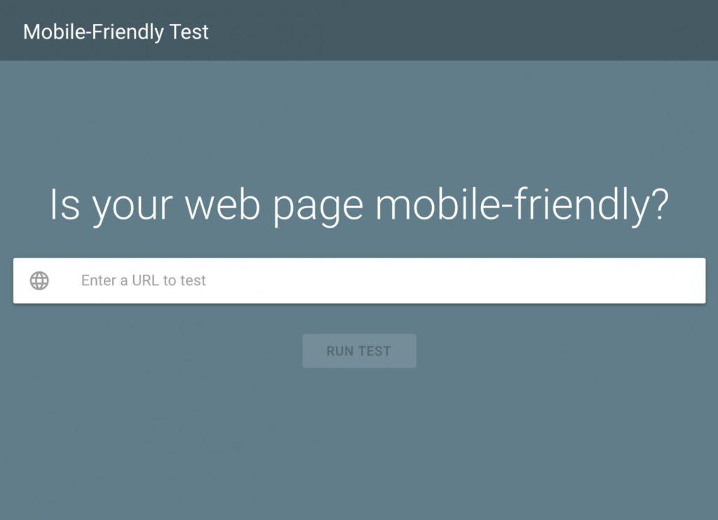 Website tối ưu cho thiết bị di động