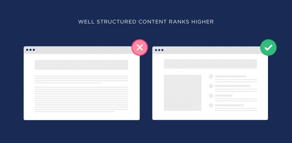 Yếu tố xếp hạng SEO về cấu trúc website