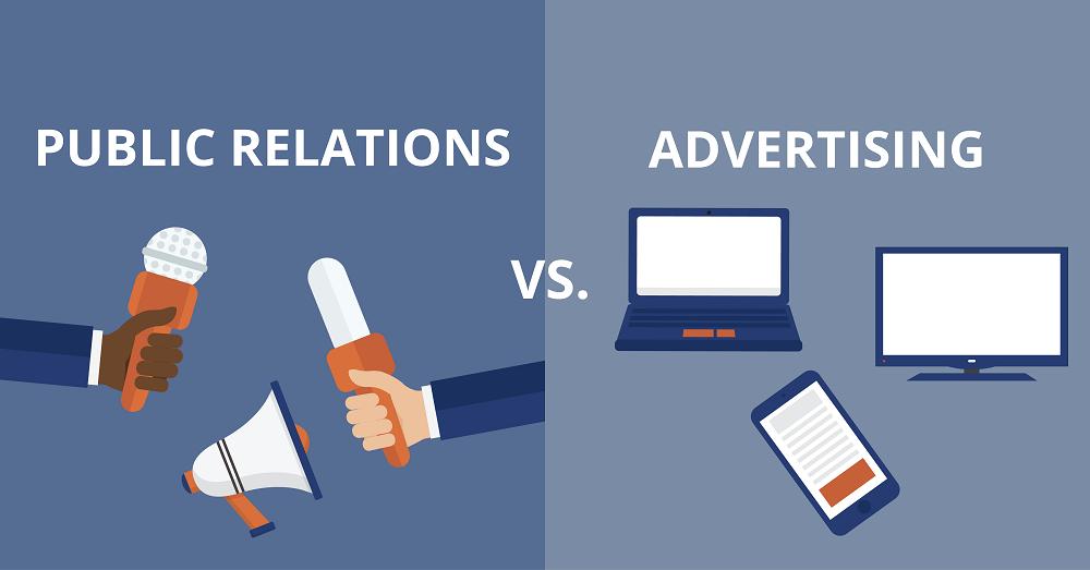 10 điểm khác nhau giữa Quảng cáo và PR