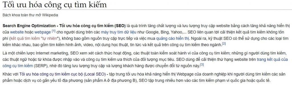 Search seo là gì