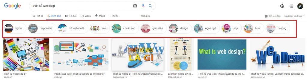 Search thiết kế web là gì 3