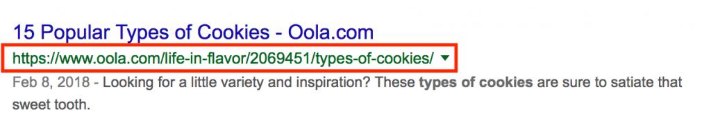 URL thân thiện với SEO 2